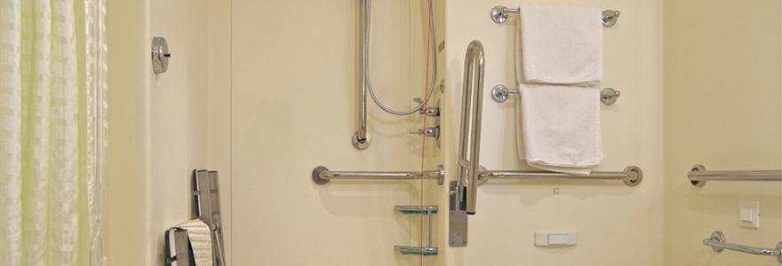 douche pour senior